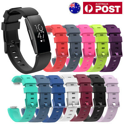 AU5.95 • Buy For Fitbit Inspire/Inspire HR Replacement Soft Silicone Sport Wrist Band Strap