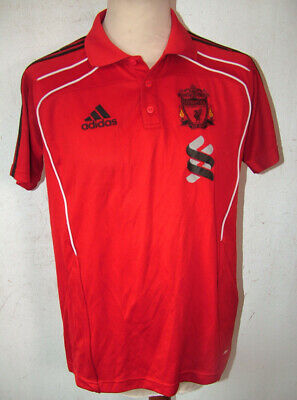 Liverpool FC Adidas Standard Chartered Football T Shirt 44in Ches • 12.99£