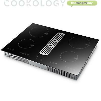 Cookology CIHDD700 70cm Induction Hob With Built-in Downdraft Extractor Fan • 619.99£
