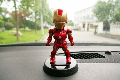$10.79 • Buy Car Accessory Decoration Toys Iron Man With Shaking The Head Dashboard Doll Nod