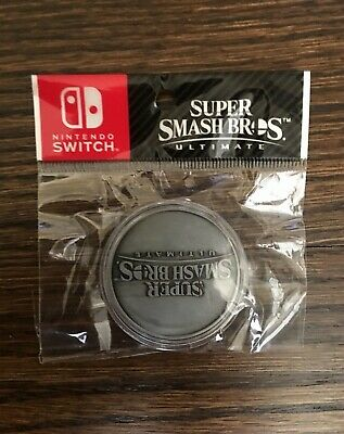 $9.99 • Buy Nintendo Super Smash Brothers Ultimate Limited Edition Collectors Coin [ New ]
