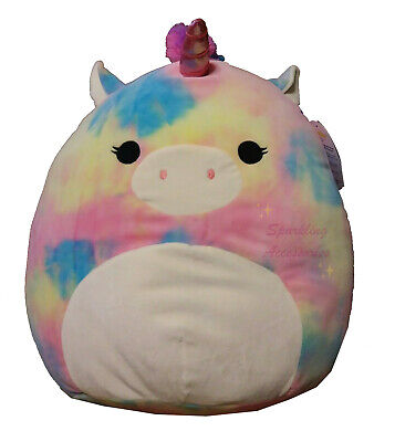 AU59.95 • Buy NEW Kellytoy Squishmallow Jaime The Pegasus Unicorn Squishy Large Soft Plush Toy