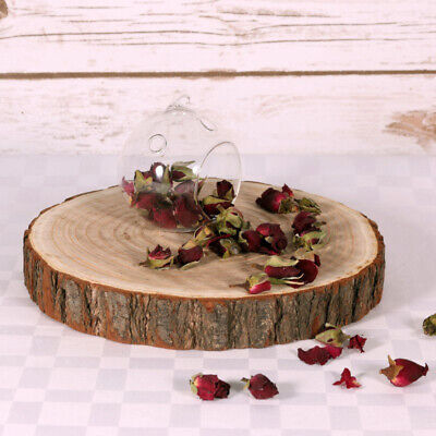 £16.49 • Buy Large Wood Slices   28-32cm Log Slices   Tree Trunk Wooden Discs Cake Stand