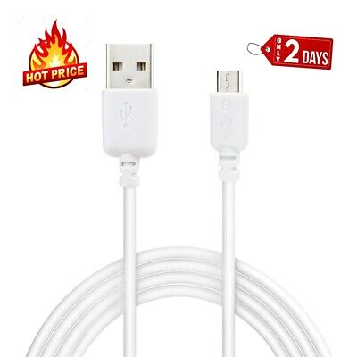 AU6.50 • Buy 2-pack Micro USB Cable 3FT  For Samsung Galaxy S6 S7 Note Android Charger