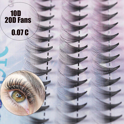 AU4.79 • Buy Fuax Mink Hair Eye Lash Extension Russia Premade Volume Fans False Eyelashes