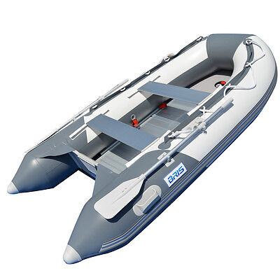 AU749 • Buy 3.0M Inflatable Boat Inflatable Dinghy Yacht Tender Raft With Aluminum Floor