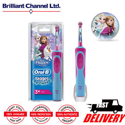 AU46.99 • Buy Oral-B D12.513K Power Kids Toothbrush (Frozen/Princess/Car)