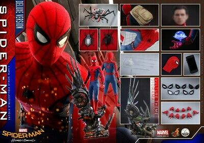 $ CDN955.76 • Buy Hot Toys QS015 1/4  Spider-Man: Heroes Return  Spider-Man Figure Toy Deluxe Ver.