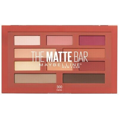 AU12.95 • Buy Maybelline THE MATTE BAR Eyeshadow Palette - LIMITED EDITION EXCLUSIVE LINE