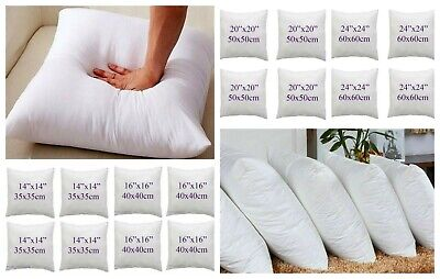 Top Quality PUMPED HOLLOWFIBER Cushion Fillers/Inner Inserts/Pads/Scatter/Pillow • 3.98£