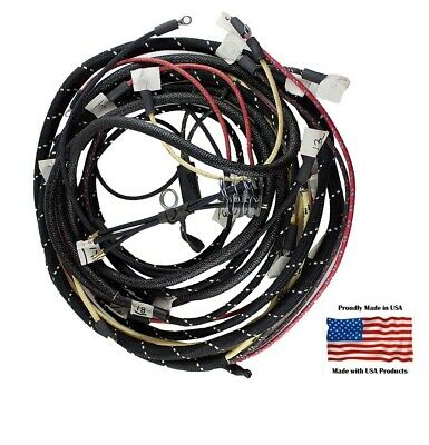 $ CDN266 • Buy Complete Wiring Harness Ford 8N Tractor Side Mount Distributor With Generator
