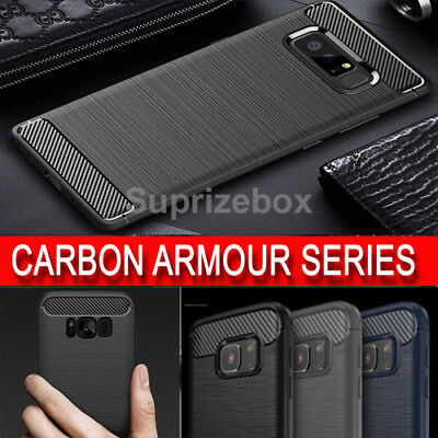 $ CDN1.72 • Buy Case For Samsung S8 S9 S7 Edge S6 Plus Original Shockproof Silicone Armour Cover