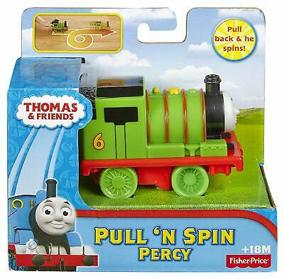 £11.50 • Buy Fisher-Price Thomas And Friends Pull 'n Spin Percy Toy Train, Vehicle & Playset