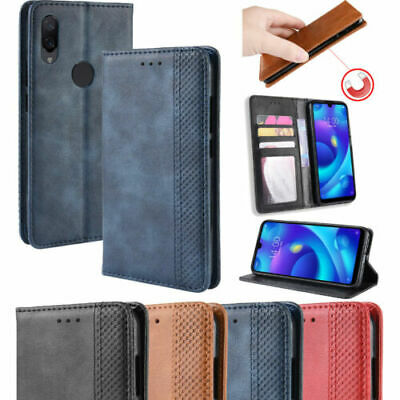 AU1 • Buy Business Pure Magnetic PU Leather Flip Wallet Stand Case Cover For Lot Phones