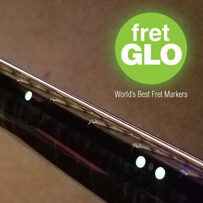 $ CDN12.75 • Buy Fret GLO  Glow In The Dark Fret Position Marker Stickers For Guitar Or Bass