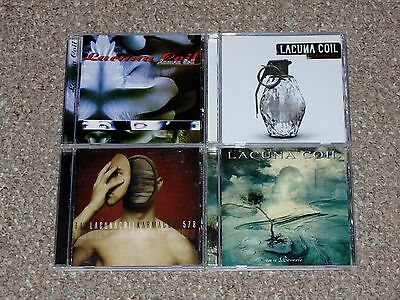 $ CDN27.99 • Buy Lot Of 4 Lacuna Coil CDs Shallow Life, Karmacode, In A Reverie More Complete