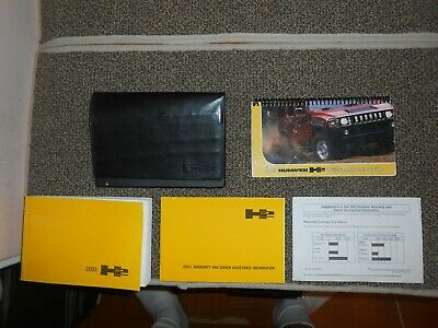 HUMMER H2 OWNERS MANUAL 2003 HANDBOOK H 2 BOOK DRIVERS