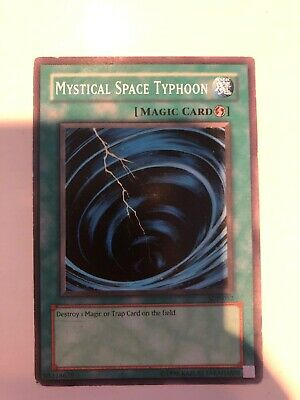 MYSTICAL SPACE TYPHOON - SDP-032 - Unlimited Edition - Yu-Gi-Oh Card Played Cond • 0.99£
