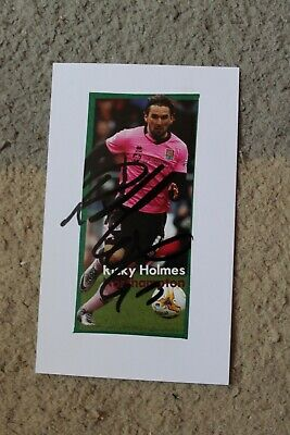 £6 • Buy RICKY HOLMES (Northampton Charlton Portsmouth FC) Hand SIGNED 5x3  Picture/Card