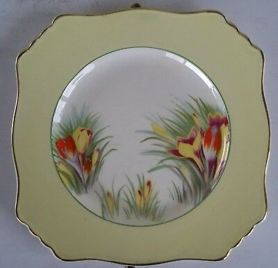 $ CDN5.95 • Buy Vintage Royal Winton Grimwades Made In England Yellow Floral Chintz Plate