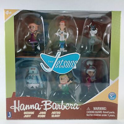 £12.97 • Buy The Jetsons Hanna-Barbera Collector Mini Action Figure 6-Pack By Jazwares