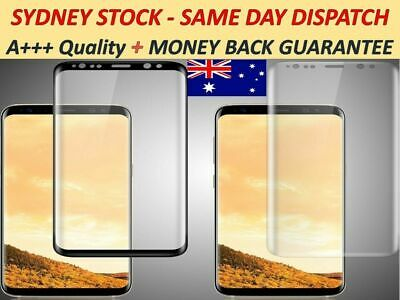 AU4.85 • Buy Samsung Galaxy S20 S10 S9 Note 10 J5 S9 S8 Edge Tempered Glass Screen Protector