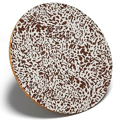 1 X Cool Appaloosa Horse Pattern - Round Coaster Kitchen Student Kids Gift #3046 • 3.49£