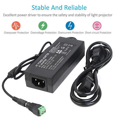 $7.46 • Buy AC 110V To DC 12V 5A Power Supply Adapter Transformer Charger LED Strip Light US