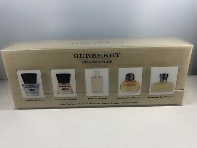 £38.99 • Buy Burberry Fragrances Gift Set Of 5 Touch,brit,london,weekend