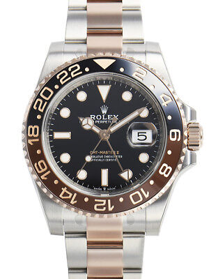 $ CDN24192.46 • Buy Rolex GMT-Master II 126711 CHNR Root Beer Bezel Oyster Bracelet 40mm Mens Watch