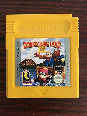 AU22 • Buy Nintendo | Donkey Kong Land 3 | Gameboy | GB P | Working Cartridge + Case