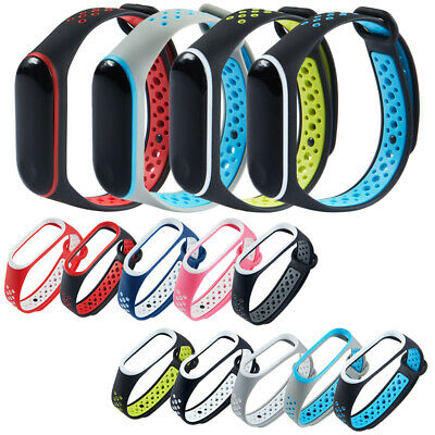$0.76 • Buy For Xiaomi Mi Band 3/4 Watchband Silicone Bracelet Strap Replacement Wristband