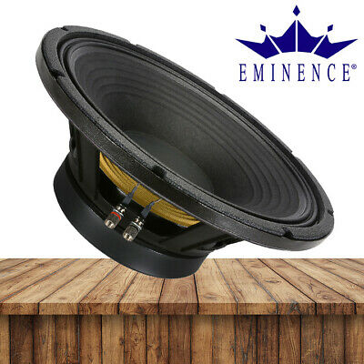 Professionele audioapparatuur Pair Eminence BETA-10CX 10 inch Coax Woofer 8 ohm 250W RMS Replacement Speaker