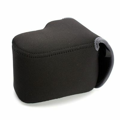 Canon 650D 600D D-slr Body 18-55mm Lens NEOPRENE CAMERA PROTECTOR Case Cover Bag • 20.42£