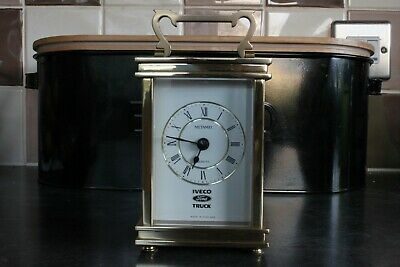 Metamec Carriage Clock Ford Iveco - Rare And In Pristine Condition • 39.99£