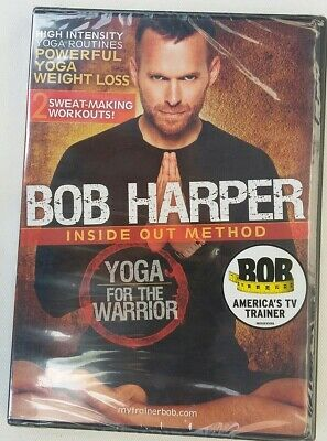 DVD Bob Harper - Inside Out Method - Yoga For The Warrior  NEW&SEALED • 16.30£