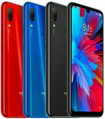 Xiaomi Redmi Note 7 (32GB, 3GB) 6.3  Dual SIM GSM Unlocked (Global 4G LTE) USED • 169.99$