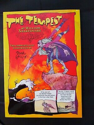 The Tempest (Graphic Shakespeare) By William Shakespeare Paperback Book  • 4£