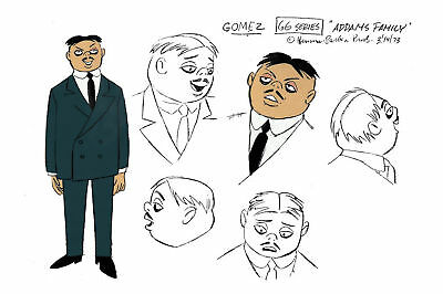 $ CDN21.17 • Buy Addams Family GOMEZ MODEL SHEET HB Cartoon