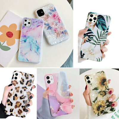 AU9.98 • Buy F Iphone 13 Pro Max 12 11 13 XR XS Shockproof Flower Cute Girls Women Case Cover
