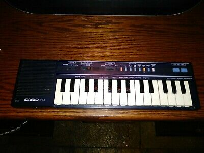 $33.98 • Buy Vintage Casio PT-1 Black Compact Electronic Keyboard Synthesizer