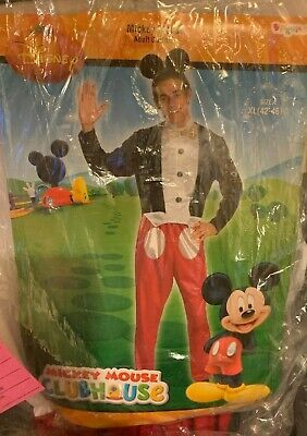 $ CDN37.82 • Buy Halloween Costumes , Mickey Mouse Costume For Men. {{{ Only One Left }}} $30