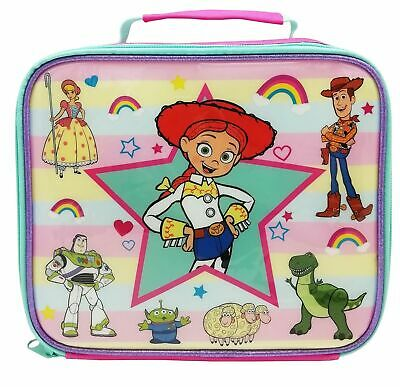 Toy Story Jessie Characters Children's/Girls School Food Container Lunch Box Bag • 10.99£