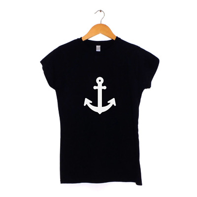 Anchor Nautical | Womens T-Shirt | MANY COLOURS | Hipster • 11.95£