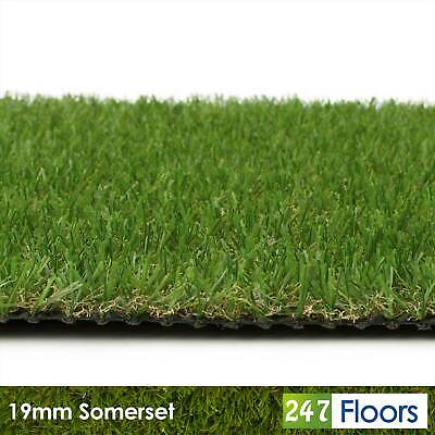 £39.99 • Buy Artificial Grass Quality Artificial Fake Grass Cheap Astro Turf Realistic 2m 4m