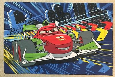 Disney Pixar Cars 2 Single Standard Pillow Case McQueen 20 X 30  • 7.69£