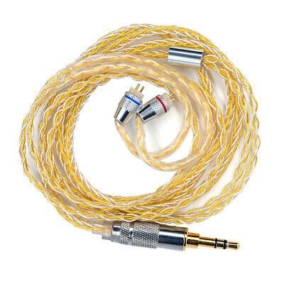 AU17.08 • Buy Upgrade Audio Cable For KZ-ZST ZSN ZS10 ZSR ZS10pro MMCX Headphones 1.2meter