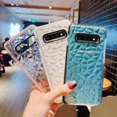 $ CDN3.82 • Buy For Samsung Galaxy Note 10 S10 Plus A30 A50 Bling Glitter Soft Rubber Case Cover