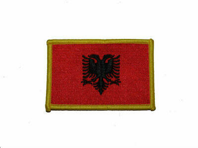 $ CDN9.27 • Buy Albania Country Iron On Patch
