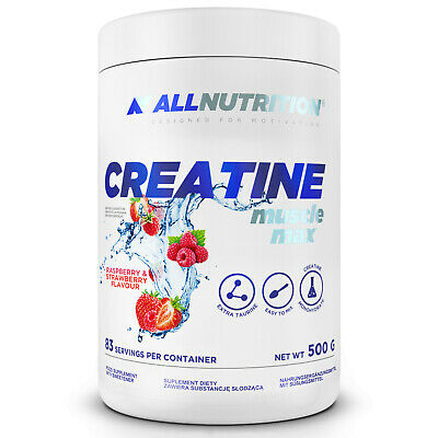 £10.99 • Buy Allnutrition Creatine Muscle Max + Taurine 500g Anabolic Power ATP Resynthesis
